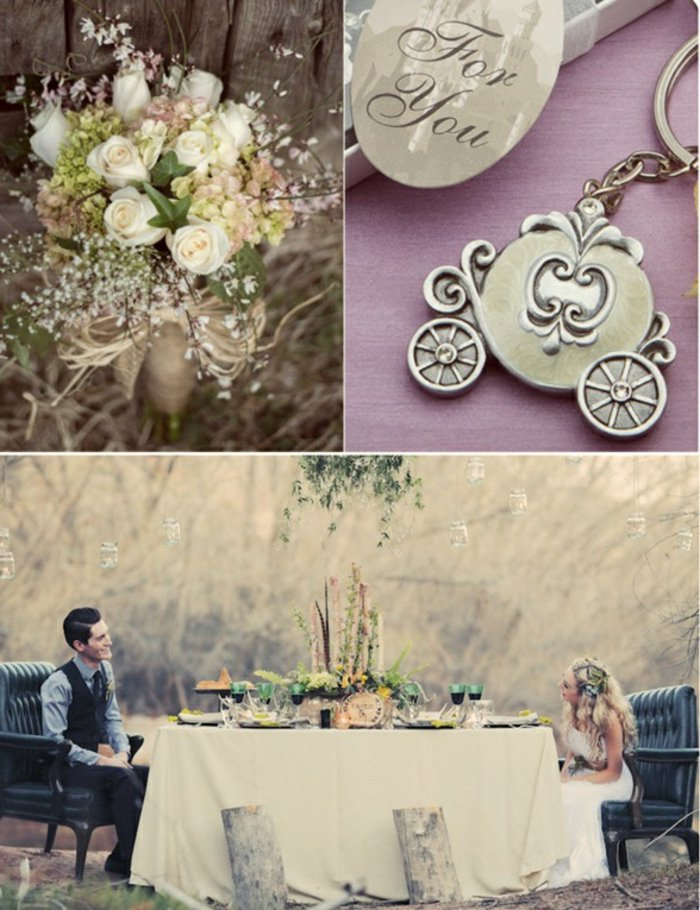 romantische-Hochzeitsideen-inspiriert-vom-Cinderella-Märchen