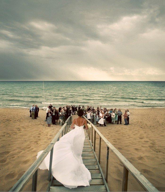 romantisches-Hochzeitsbild-Hochzeit-am-Strand