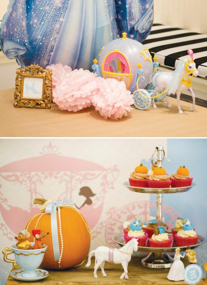 süße-Party-Deko-wie-vom-Cinderella-Märchen