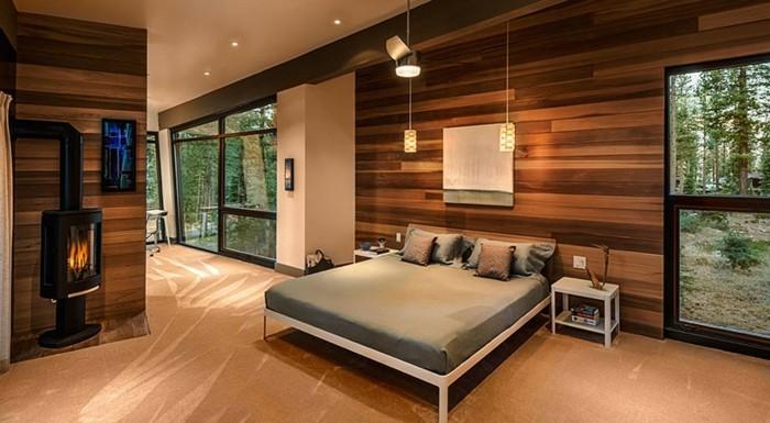 schlafzimmer-farben-ideen-braune-gestaltung