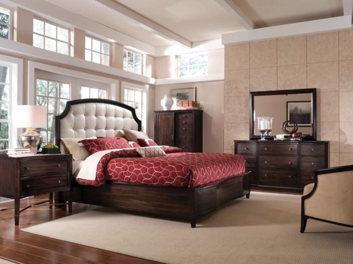 schlafzimmer-wandgestaltung-mit-farbe-taupe-tönung
