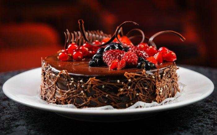 schokoladenkuchen zum tr umen 41 ideen. Black Bedroom Furniture Sets. Home Design Ideas