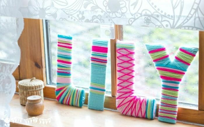 Sehr Kreative Wanddeko Ideen Bunte Farben