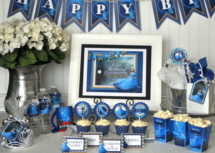 stilvolle-Geburtstagsideen-mit-Aschenputtel-Motiven