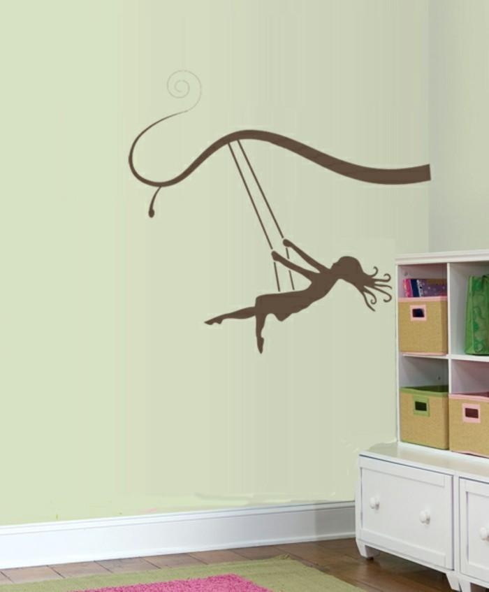 tapeten-für-mädchen-kreative-madchenzimmergestaltung