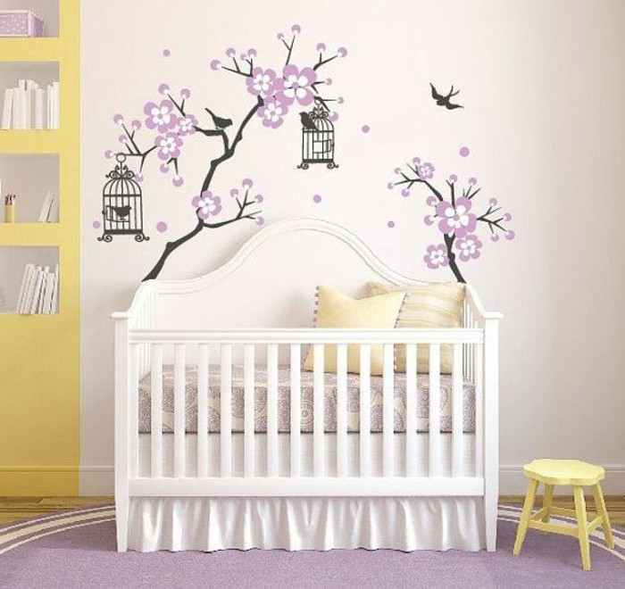 Kinderzimmer Wandgestaltung Mädchen | Beecie, Wohnzimmer Design
