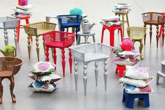 Recycling ideen für zuhause  Recycling Möbel: 105 verblüffende Modelle! - Archzine.net
