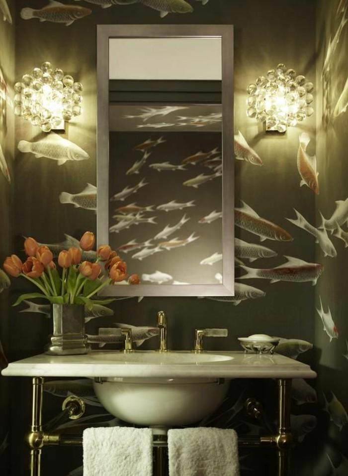 tolles-foto-moderne-badezimmermöbel-interessante-wandgestaltung
