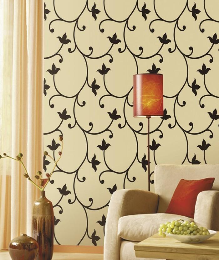 unikale-tapeten-für-ein-frisches-ambiente-im-wohnzimmer