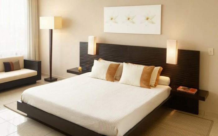 unikale-wandfarbe-schlafzimmer-modern-in-cappuccino-gestalten