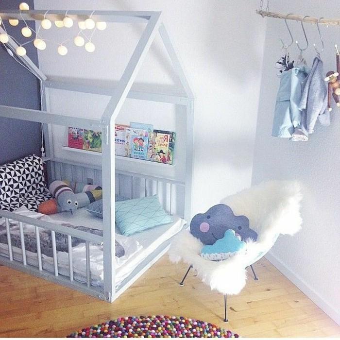 unikale-zimmer-dekorieren-tipps-madchenzimmer-mit-einem-tollen-bett