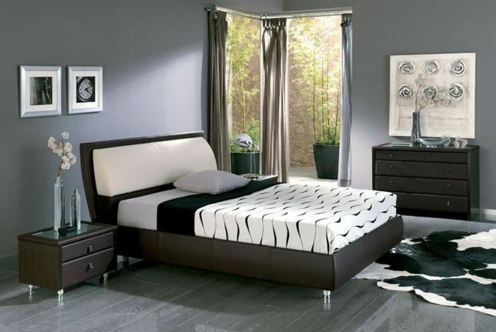 Schlafzimmer Wandfarbe Ideen in 140 Fotos! - Archzine.net