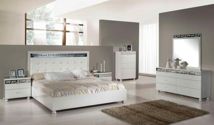 schlafzimmer dekor teppich. Black Bedroom Furniture Sets. Home Design Ideas