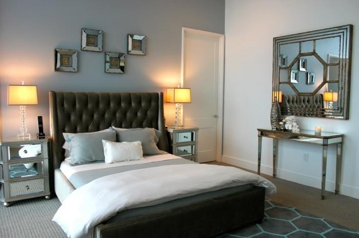 Schlafzimmer wandfarbe ideen in 140 fotos - Wandfarbe fur schlafzimmer ...