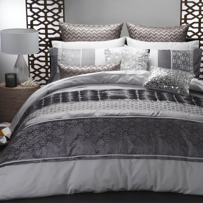 wandfarbe-grau-luxuriöses-modell-schlafzimmer-mit-einem-attraktiven-design