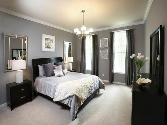 schlafzimmer gestalten wandfarbe ~ speyeder.net = verschiedene ... - Modernes Schlafzimmer Grau