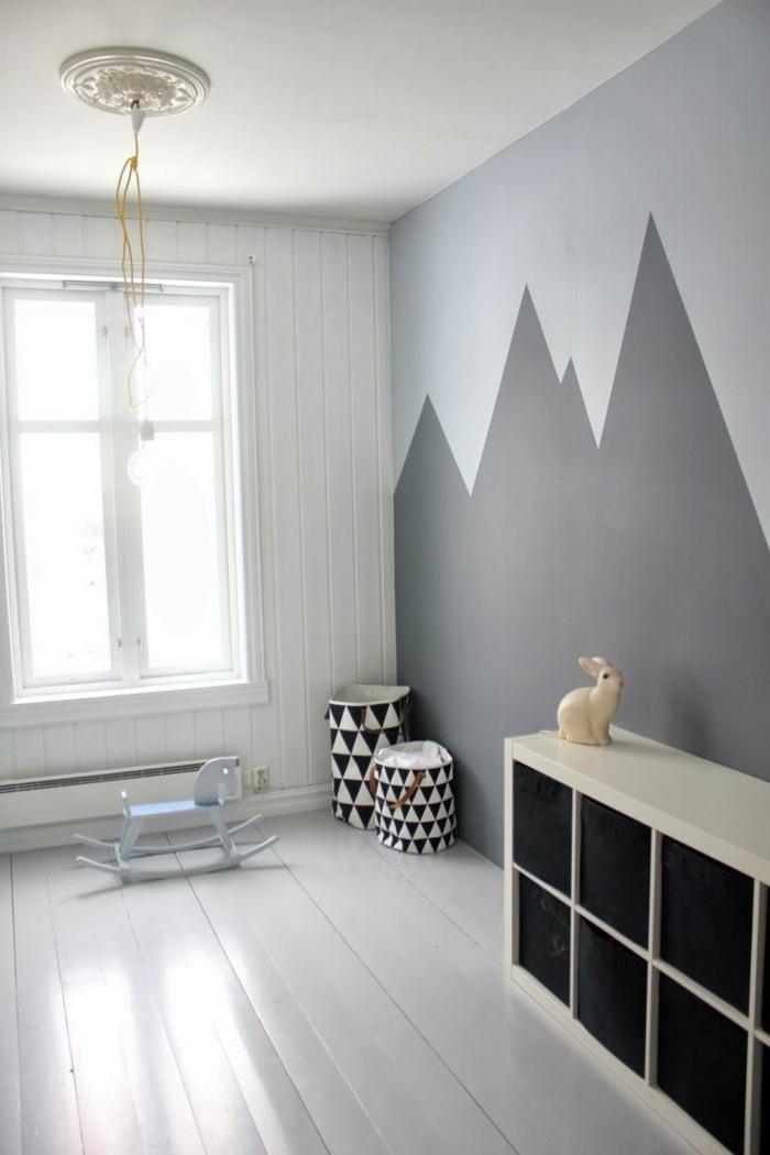wandfarbe-grau-sehr-interessantes-schlafzimmer-ausstatten