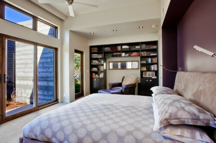 wandfarbe-weiß-kreatives-design-schlafzimmer