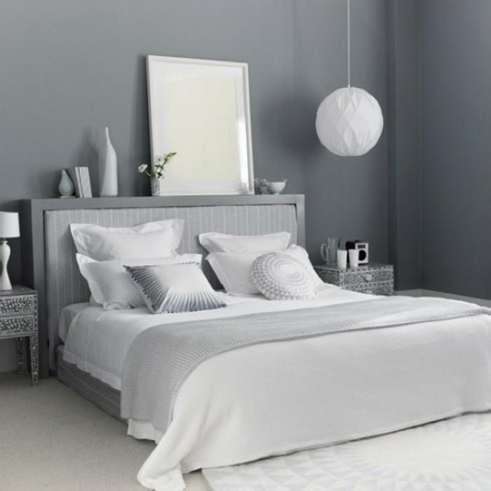 24 Weisses Schlafzimmer Wandfarbe