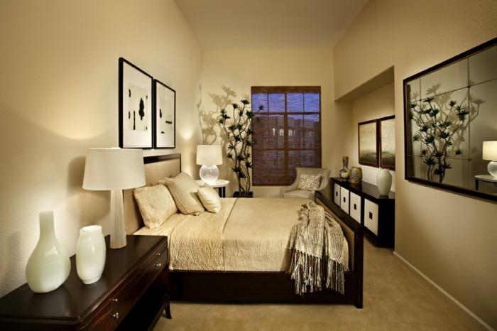 wandfarben-palette-im-tollen-schlafzimmer-goldene-nuancen
