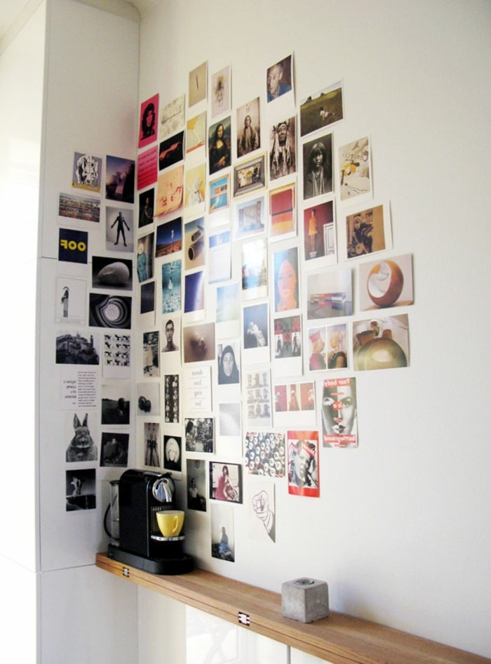 wandgestaltung-farbe-viele-fotos-aufkleben