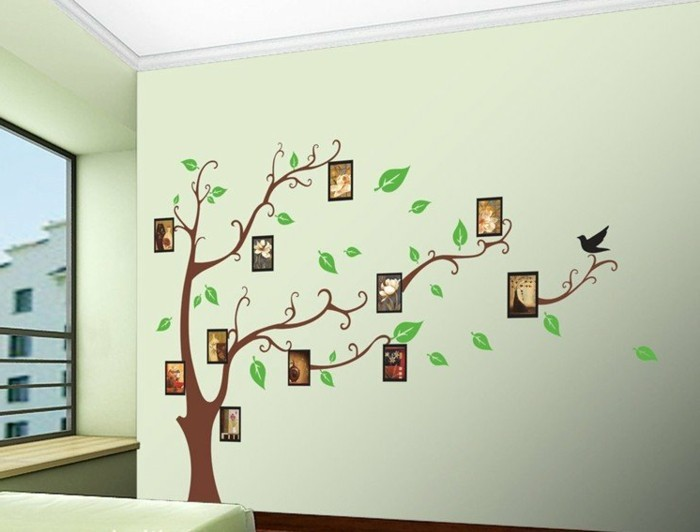 Wandgestaltung Selber Machen: 140 Unikale Ideen!