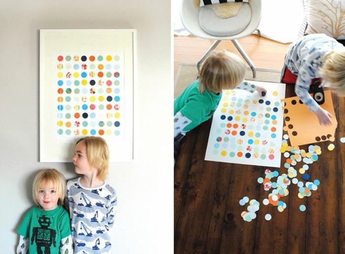 wandgestaltung-selber-machen-diy-idee-für-kleinkinder