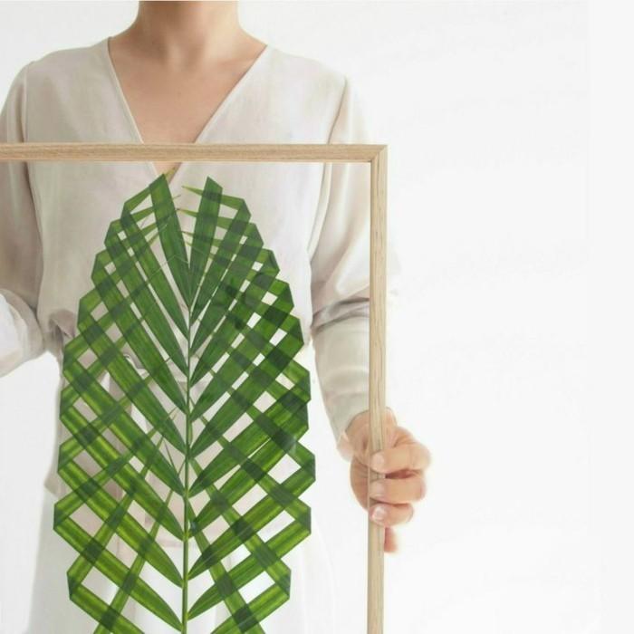 wandgestaltung-selber-machen-unikale-diy-deko-in-grün