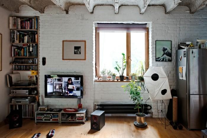 Zimmerpflanzen Warme Wohnzimmer : tolles modell fenster - warme farben ...