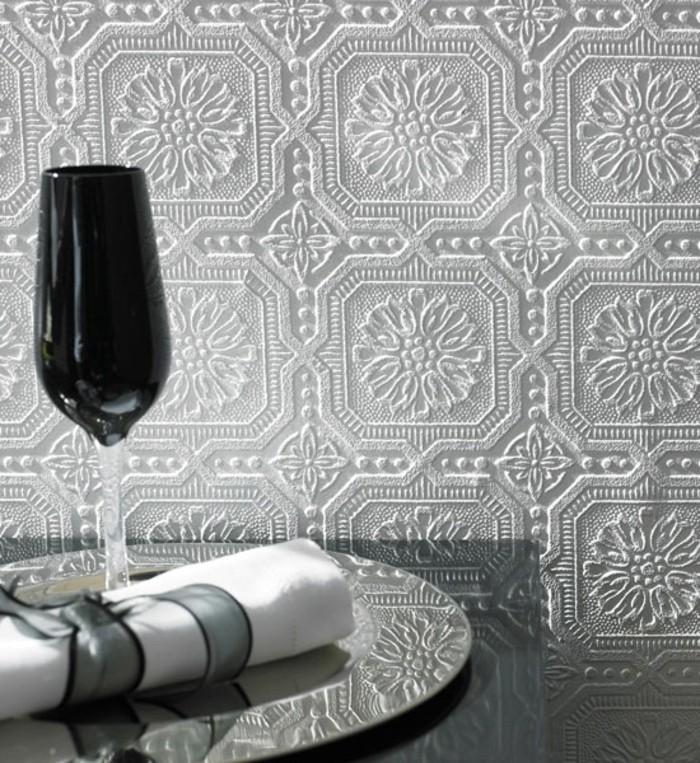 weiße-attraktive-gestaltung-moderne-tapeten-modernes-zimmerdesign