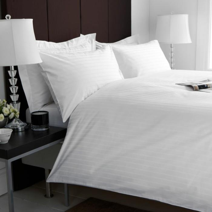 sch ne wei e bettw sche m belideen. Black Bedroom Furniture Sets. Home Design Ideas