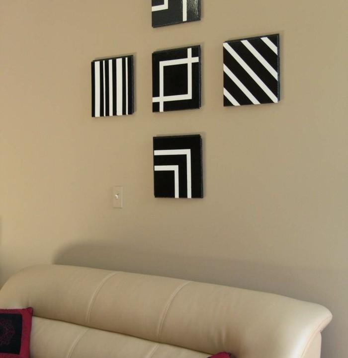 weißes-sofa-und-kreative-wanddeko-ideen