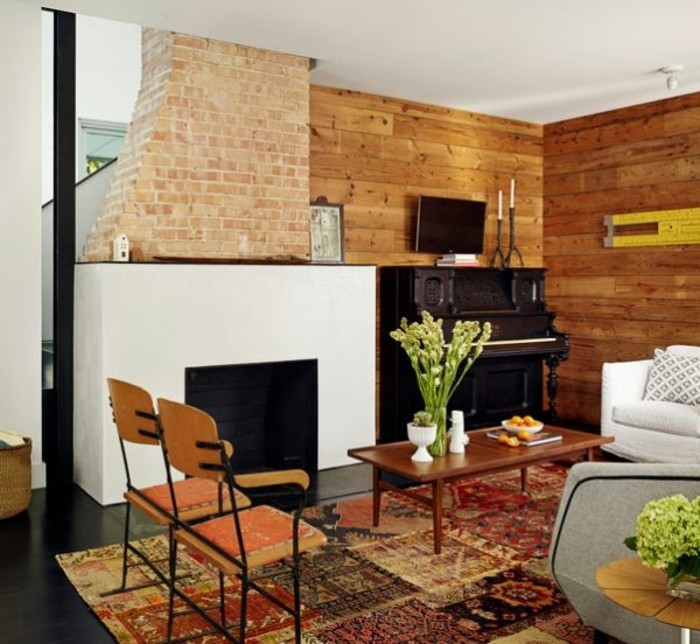 wohnzimmer renovieren: 100 unikale ideen! - archzine, Innenarchitektur ideen