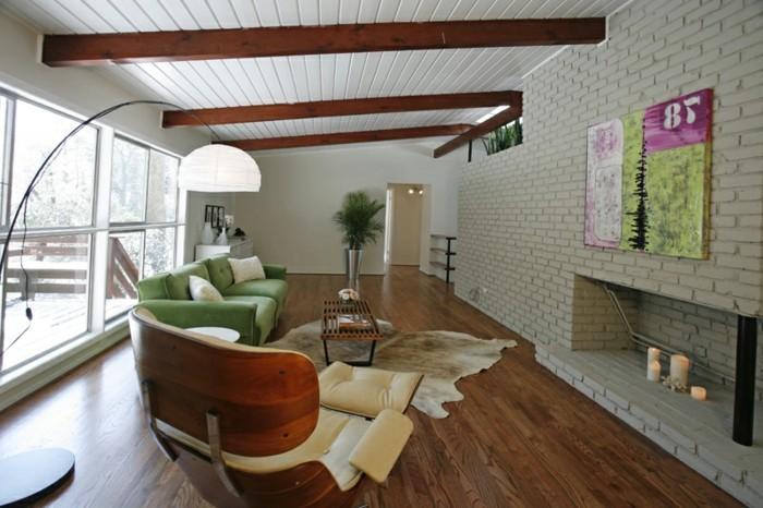 wohnzimmer-wandfarbe-wundervolle-innengestaltung