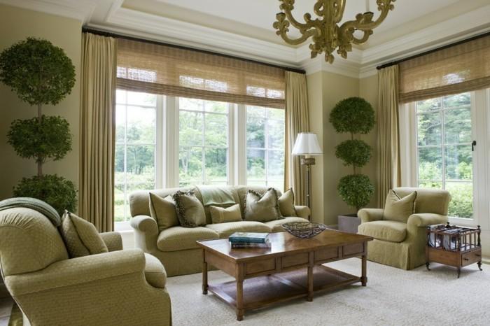 wohnzimmereinrichtung-wunderschönes-design-sessel-und-sofas