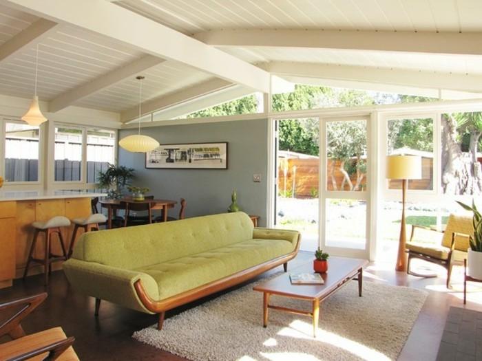 wohnzimmereinrichtungen-grünes-sofa-wunderschönes-modell