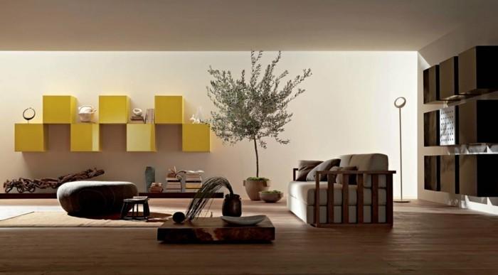 wohnzimmer renovieren: 100 unikale ideen! - archzine.net - Wohnzimmerwand Ideen