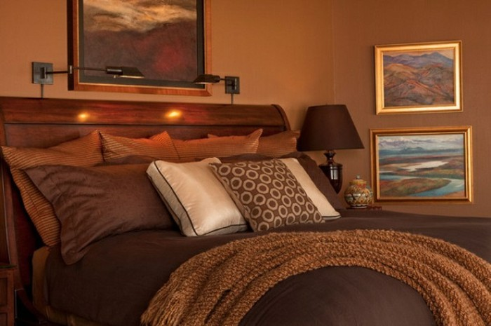 wunderschönes-modell-schlafzimmer-braune-gestaltung