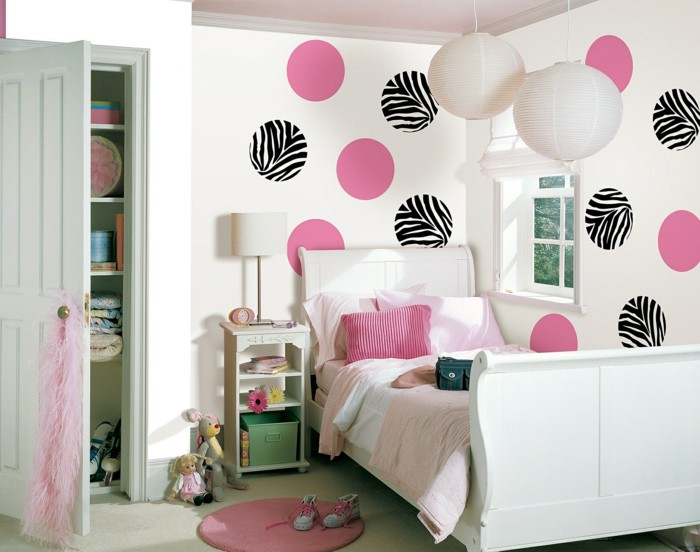 125 einrichtungsideen f r ein sch nes m dchenzimmer. Black Bedroom Furniture Sets. Home Design Ideas