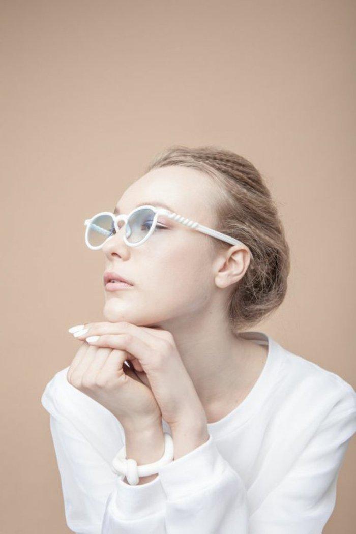 0-kokettes-Modell-Brillen-ohne-Sehstärke-in-Weiß
