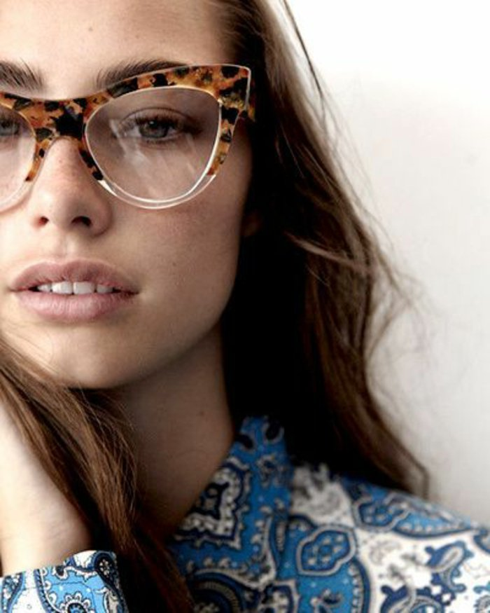 0-retro-Brille-für-Damen-schickes-Modell
