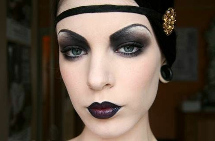 20er mode inspiration in mehr als 100 fotos for 20er jahre make up