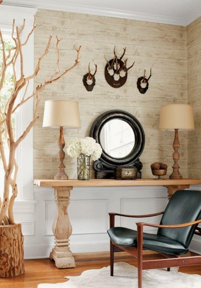 3d-tapete-holzoptik-im-sehr-schönen-wohnzimmer-mit-wanddekoration