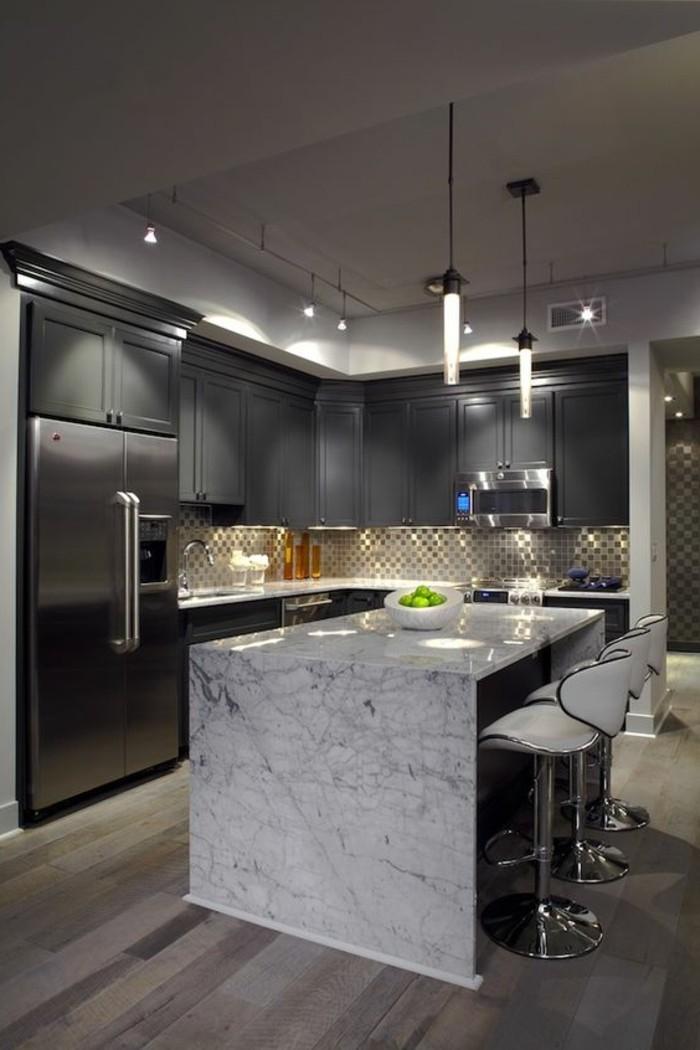 Marmor arbeitsplatte ideen f r bessere k chen gestaltung for Plaque de marbre cuisine