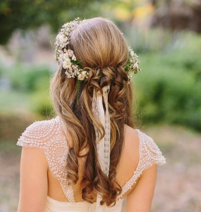 Haarschmuck Mit Blumen Ute Bilder