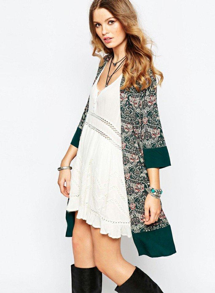Die kimono jacke und ihre gegenw rtige leseart - Kimono jacke damen ...
