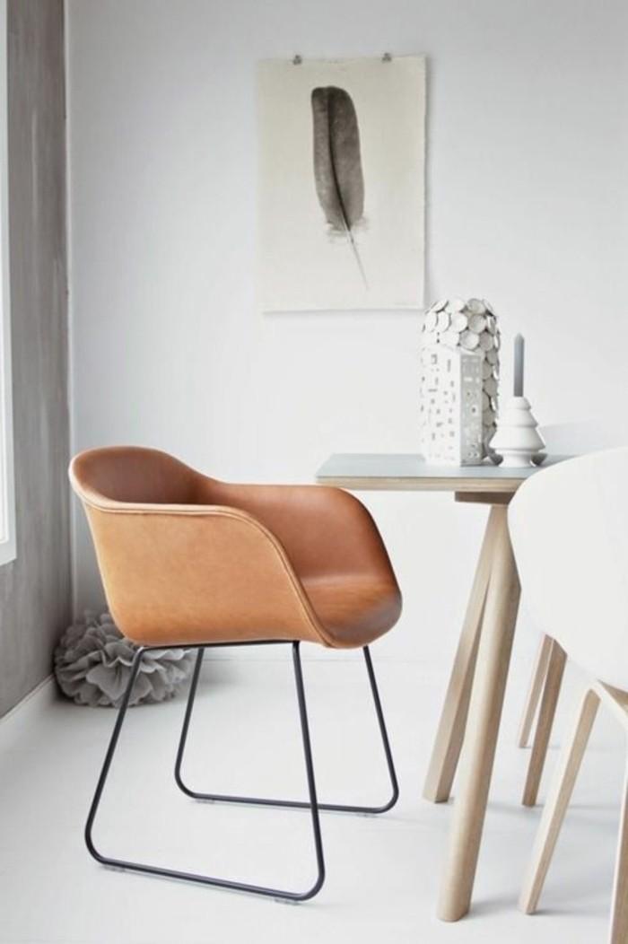 Esszimmerstühle-Leder-Modelle-fantastischer-Ledersessel