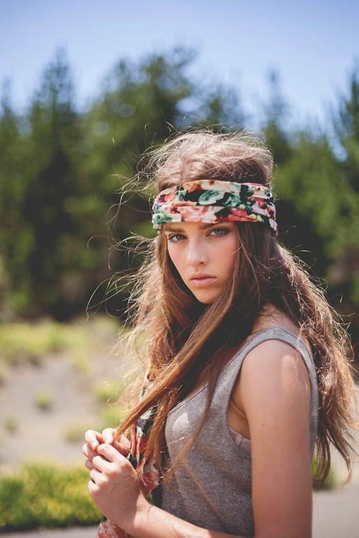 Fashion-Haaraccessoire-für-lange-Haare-buntes-Haarband