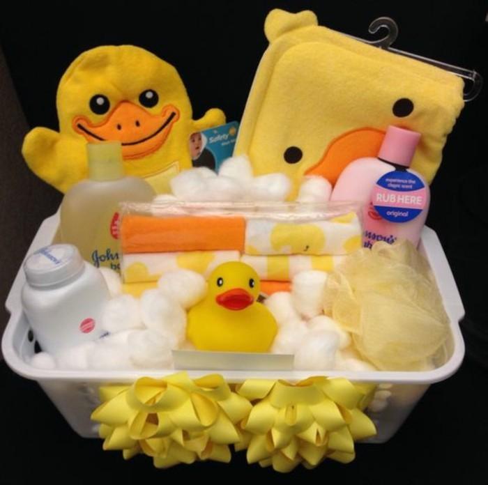 geschenk für baby verpacken