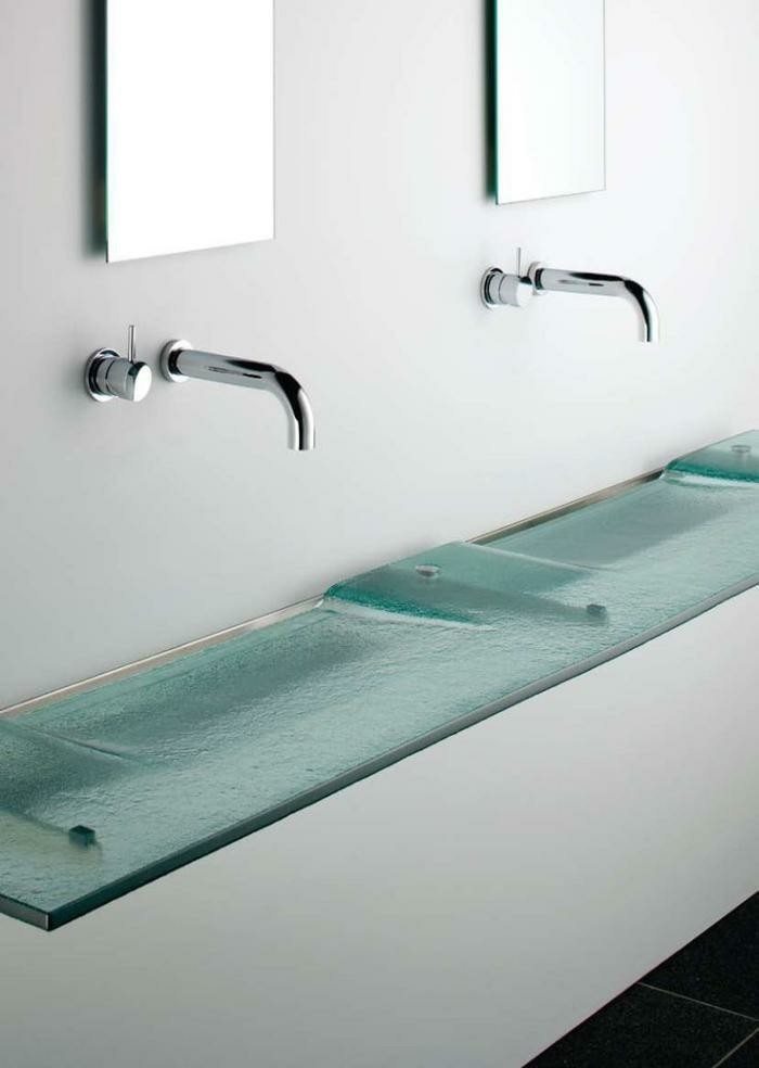 Glas-Waschbecken-desin